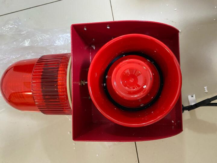 杭亚 YS-01H工业语音声光报警器一体化大分贝喇叭电子蜂鸣器起重机行车天车厂房室外报警器喇叭 DC24V 晒单图