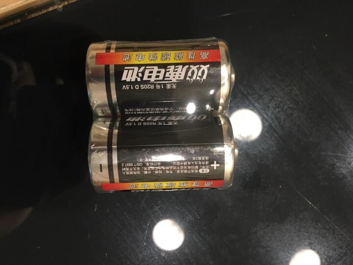双鹿5号碳性电池  适用于儿童玩具/遥控器/挂钟/鼠标键盘等 AA/R6 60粒装 晒单图