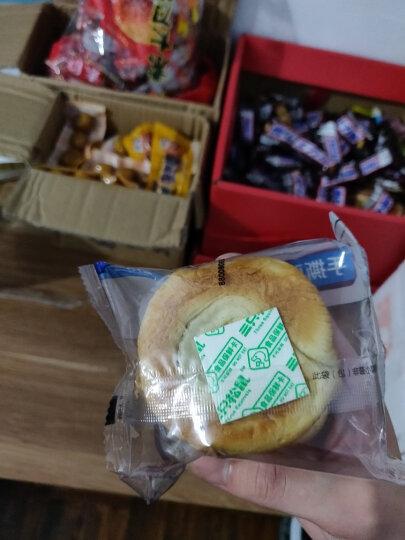 三只松鼠手撕面包 点心零食酵母面包代餐早餐口袋软面包礼盒 1000g/盒 晒单图
