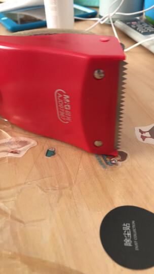 晨光(M&G)文具60mm简易式胶带座 封箱器 胶带切割器 单个装红蓝随机AJD97367 晒单图