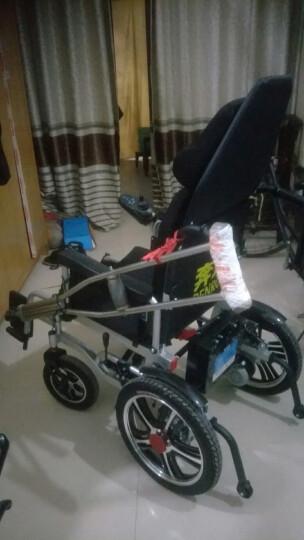 奔瑞(BENRUI) 奔瑞电动轮椅车可折叠轻便全躺老年残疾人自动智能四轮车 【高靠背】四轮减震-12A锂电【15-18公里】 晒单图