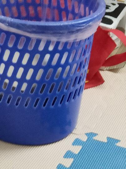 天章办公(TANGO)中号金属网垃圾桶办公室厨房卫生间家用清洁桶办公环保纸篓φ235mm/探戈系列办公文具 晒单图