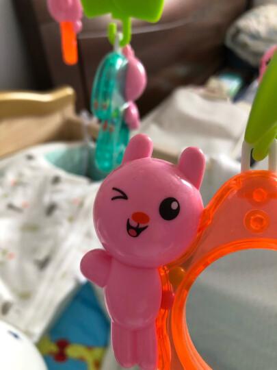 澳贝(AUBY)儿童婴儿玩具男女孩宝宝迪迪兔床铃音乐旋转哄睡床铃摇铃新年礼物(新旧配色随机发货)461533 晒单图