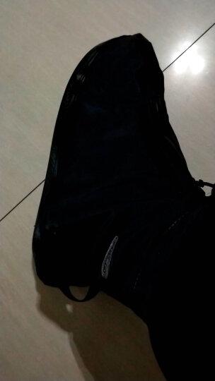 雨易思男女防雨鞋套中筒加厚耐磨底防滑下雨天防水成人雨靴套 白色 L号适合38-39码 晒单图