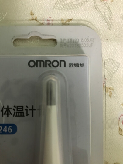 欧姆龙(OMRON) 电子体温计MC-246 (白色) 晒单图
