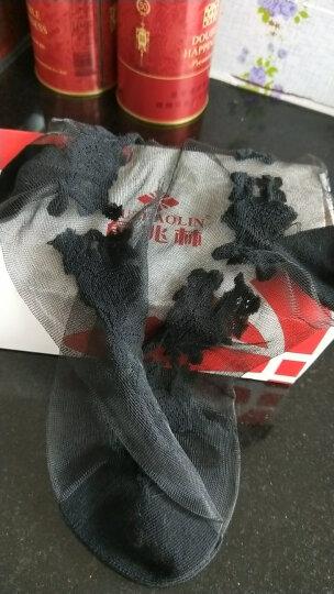 鹿人韩国水晶冰丝玻璃丝短袜透明玫瑰花女袜子 春夏薄款  多种花色任意选6010 花色二十一 均码 晒单图
