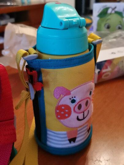 虎牌TIGER 儿童保温杯小猪生肖600ML(直饮盖+杯盖)品牌直供 真空不锈钢学生水杯户外儿童杯子MBR-B06G-YP 晒单图