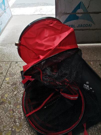 北溟鱼 涂胶鱼护防挂速干万向定位鱼网黑坑鱼护网兜渔具用品 35cm*2.5m(送鱼护包)+精装钛合金挡针 晒单图