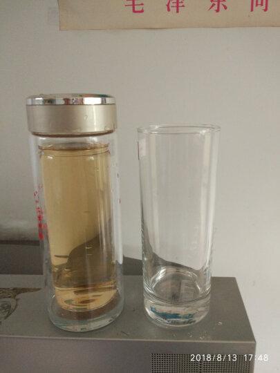 Ocean泰国进口玻璃水杯牛奶果汁杯茶杯饮料杯290ml六只套装 290ml六只+白托盘+杯架 晒单图