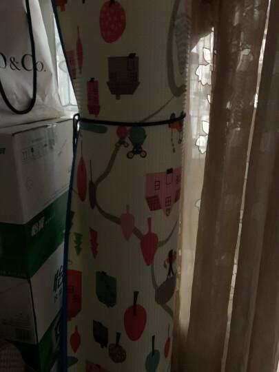 好孩子(gb)宝宝爬行垫折叠爬行垫加厚爬行毯泡沫地垫 大象小鸟+新西兰农庄(200*160*1.0cm) 晒单图
