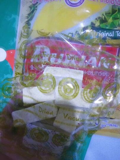 泰奥琪 Thai Ao Chi 金枕头榴莲干 进口冻干水果干休闲零食 30g/袋 晒单图