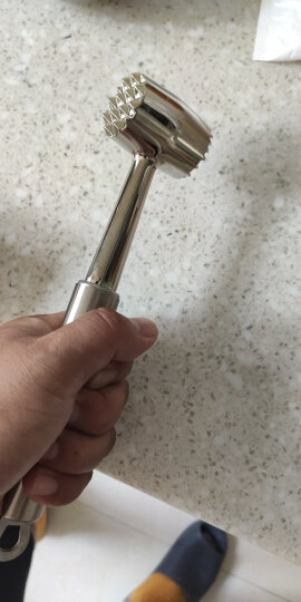 百润 Bairun 合金肉锤 牛排松肉锤 锌合金冰锤 ZR885/2000 晒单图