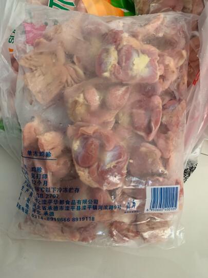 华都食品 冻鸡爪 1kg/袋 烧烤食材 卤鸡爪 鸡肉 火锅食材 晒单图