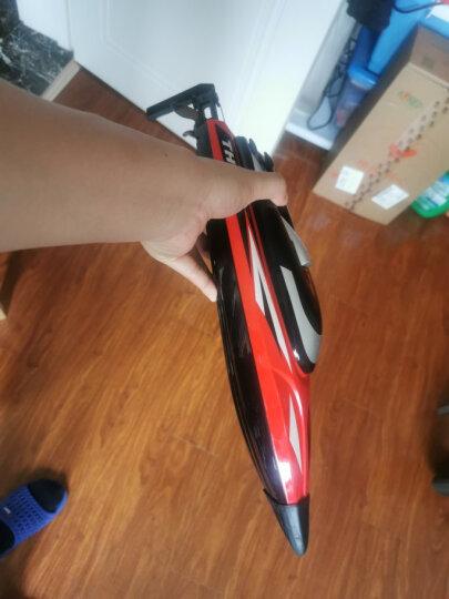 优迪玩具 UDI902 玩具船模充电高速快艇遥控快艇游艇儿童电动水上摇控玩具船防水比赛用航模型船 42CM 魅力红 晒单图