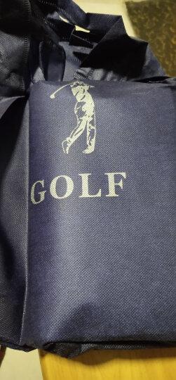 高尔夫GOLF男士手包防水锦纶手拿包男包多功能手抓包单肩包男腰包 藏青棕 晒单图