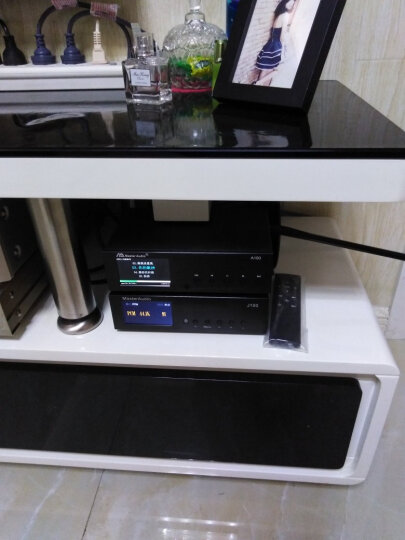 CNSAV 北京师旷A100 WAV APE母带无损音乐播放器 HIFI发烧数字转盘解码器 一体机 黑色面板 A100播放器 晒单图
