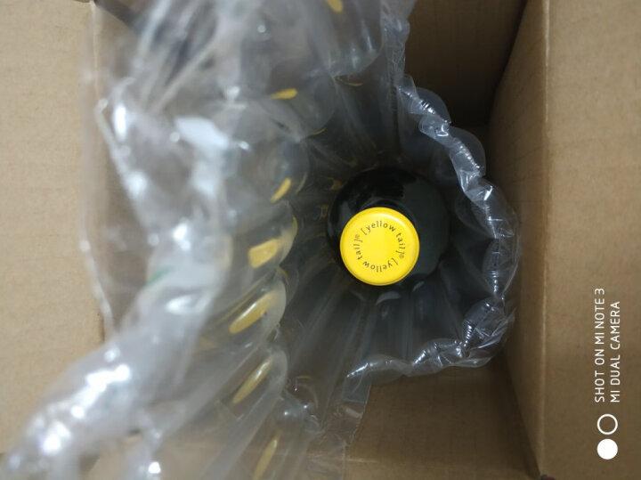 黄尾袋鼠(Yellow Tail)红酒/白葡萄酒 澳大利亚进口葡萄酒 梅洛 750ml*6瓶 整箱 晒单图