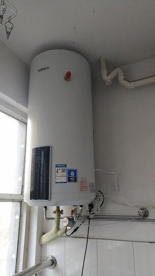力诺瑞特 V动力100升阳台壁挂高层太阳能电热水器 光电两用热水器 搪瓷内胆质保十年 包送货安装 晒单图