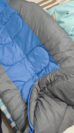 RedCamp 睡袋 户外秋冬季加厚睡袋成人午休睡袋  2.3kg 蓝色 晒单图