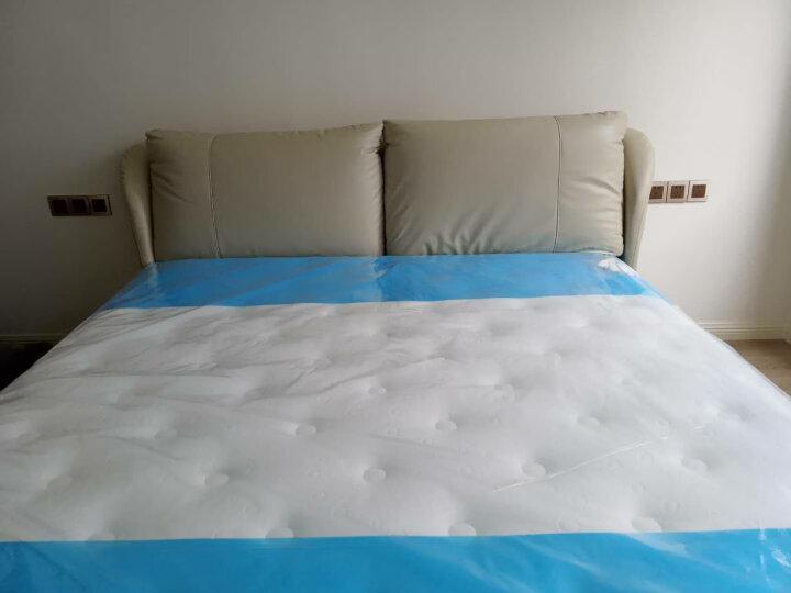 金可儿乳胶床垫席梦思泰国原液 希尔顿酒店偏硬护脊床垫 托珀-经典版 1.8米*2米 晒单图