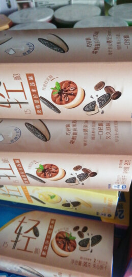 奥利奥(Oreo)巧轻脆薄片夹心饼干休闲零食糕点95g*8盒 提拉米苏 晒单图