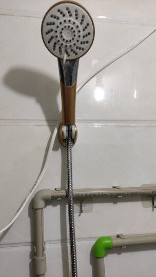 贝乐卫浴(Ballee) D96 加密淋浴管 不锈钢花洒管 双扣软管 防爆 铜头 晒单图
