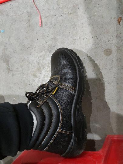 固邦特秋冬季高帮棉劳保鞋男安全鞋防砸防刺穿工作鞋 冬款注塑PU底 43 晒单图