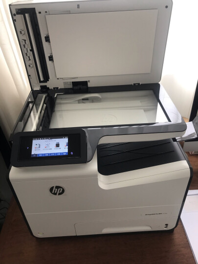 惠普hp 打印机 477dw/577dw/577z A4彩色喷墨 复印扫描传真一体机 办公 577z标配 晒单图