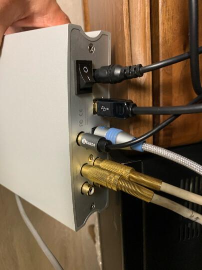 aune X1S 2020款耳机放大器USB声卡 9038DAC解码DSD硬解HiFi台式耳放 X1S 黑色 Black    10周年版 晒单图