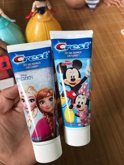 佳洁士牙膏儿童牙膏阶段型浆果味防蛀(安全低氟)90g 适合2岁及以上儿童(德国进口)(新老包装 随机发送) 晒单图