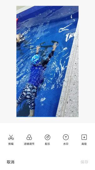英发(YINGFA) 泳镜 高清防雾竞速比赛训练小镜框学生男女游泳眼镜  Y570AF 黑色 晒单图