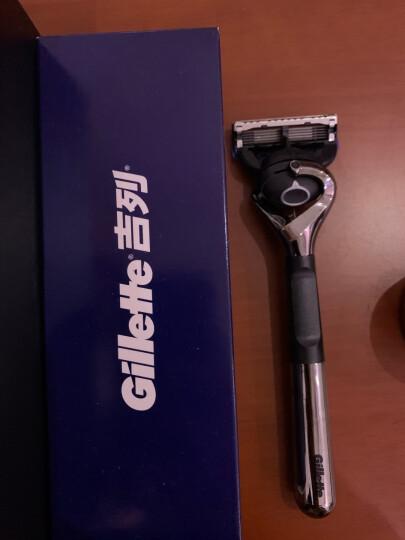 吉列(Gillette) 手动剃须刀刮胡刀刀片 锋隐致顺5层超薄刀片(6刀头 此商品不含刀架) 晒单图