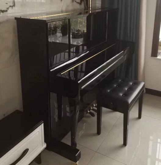弗洛拉(FLORA) 日本FLORA/弗洛拉立式钢琴F123M全新家用初学者教学演奏钢琴 黑色 晒单图