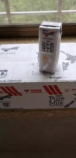 新西兰进口牛奶 纽仕兰 3.5g蛋白质全脂纯牛奶 250ml*24盒整箱家庭装 晒单图