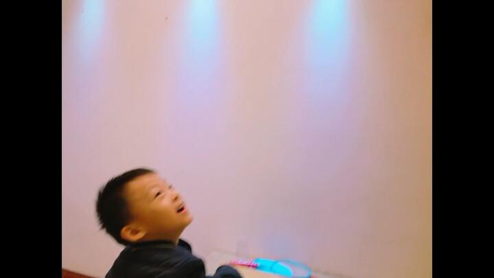 电学小子 儿童积木拼装玩具电子电路男孩物理启蒙益智玩具 320投影七彩灯 晒单图