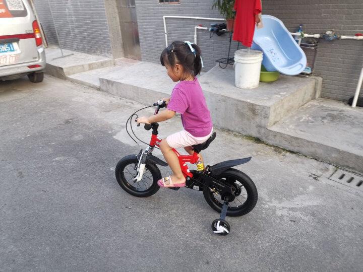 优贝(RoyalBaby)儿童自行车 单车男女小孩童车 避震型宝宝脚踏车山地车3岁-9岁 小飞熊16寸 黄色 晒单图