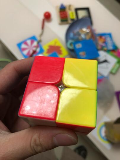 魔域文化 三阶魔方3阶套装245二四五阶比赛专用入门顺滑速拧礼盒 2阶六彩色 晒单图