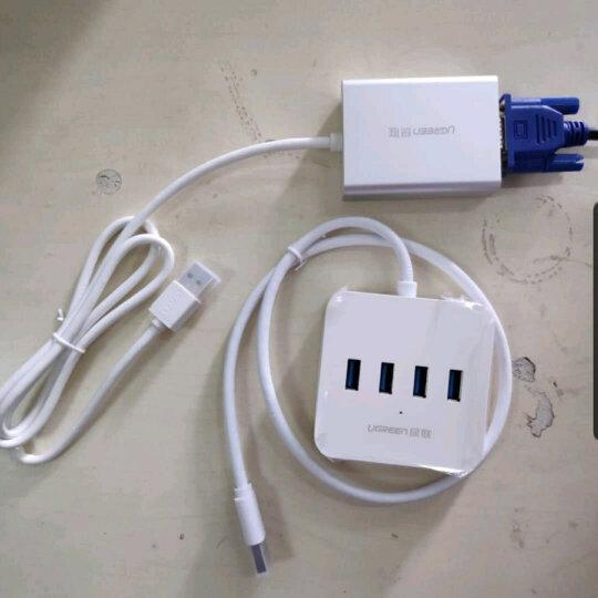 绿联 USB转VGA外置显卡转换器线 支持笔记本苹果电脑转接电视投影仪 晒单图