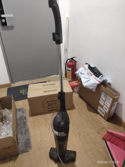 德尔玛(Deerma)DX115C 家用手持吸尘器 迷你手持小型吸尘器宠物家庭适用 晒单图