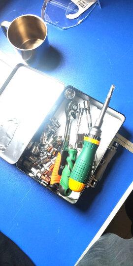 工蜂  24件10mm系列 AS004-024G汽修套筒系列组套 快速棘轮扳手套装 机修工具 汽修工具 晒单图