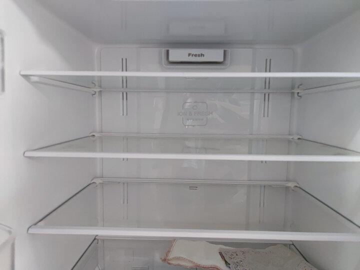 格力(KINGHOME)晶弘 410升智能变频十字对开门冰箱 宽幅变温 格力晶弘 BCD-410PQC(现代金) 晒单图