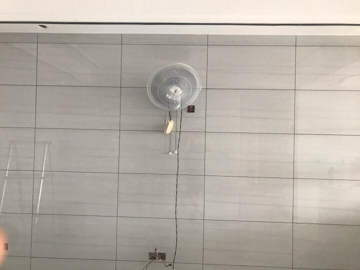 奥克斯(AUX)FW-40-C1604  电风扇/四扇叶壁扇/壁挂式风扇/家用大风量风扇 晒单图