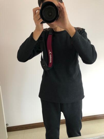 马田(MATIN) 韩国进口单反相机背带肩带减压挂脖佳能尼康宾得索尼微单摄影斜跨快枪手加宽加长相机带 入门黑无字 晒单图