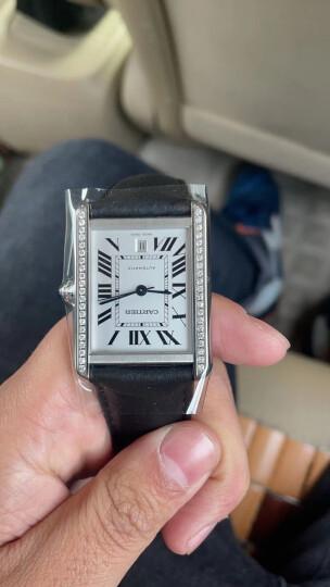 【二手95新】卡地亚坦克 男表 大号 自动机械手表 后镶钻31*40mm W5200027 晒单图