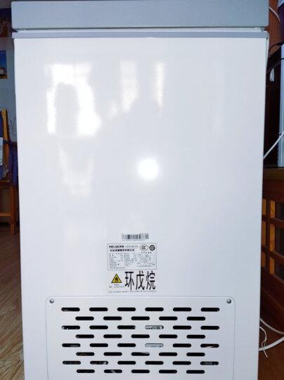 美菱(MELING)98升 冷藏冷冻转换冰柜 节能迷你家用小冷柜 一级能效 单温母乳小冰箱 顶开门BC/BD-98DT 晒单图