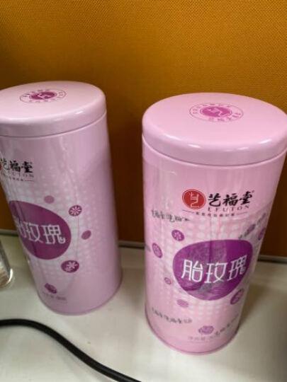 艺福堂 茶叶花草茶 平阴胎玫瑰花茶 泡水喝的不熏硫玫瑰干花滋润养生茶80g 晒单图