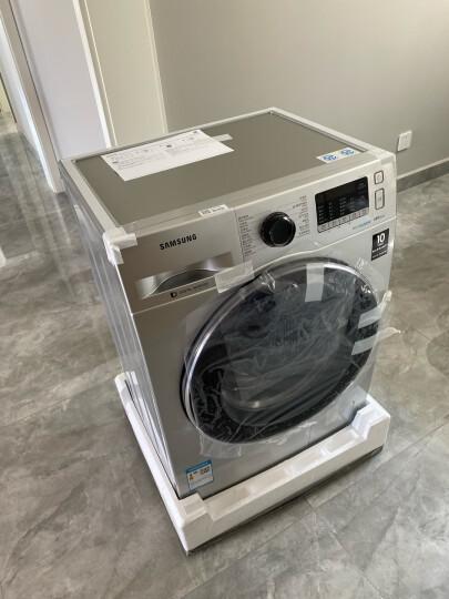 三星(SAMSUNG)8公斤超薄滚筒全自动洗衣机 婴儿洗 中途添衣 泡泡洗WW80K5210VS/SC(XQG80-80K5210VS)(银) 晒单图