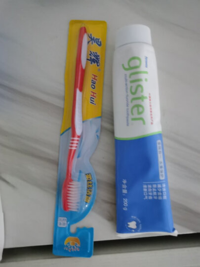 安利牙膏国产含氟牙膏买就送牙刷1支含氟薄荷味丽齿健多效白去烟渍口气牙渍结石 晒单图
