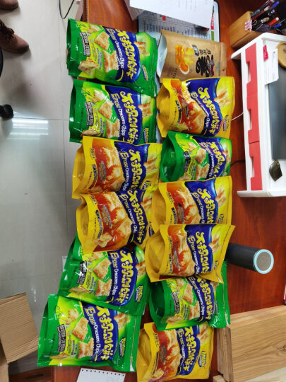 Wishtree味之旅 不规则饼干225*5/6蜂蜜黄油酸奶洋葱韩国泡菜番茄芝士咸味梳打批发早餐饼干 黑胡椒孜然味 6包 不规则饼干1500g 晒单图