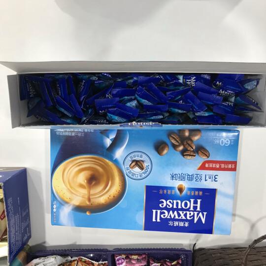 麦斯威尔 速溶咖啡随行收纳化妆包(咖啡色 24包6种风味)496g/盒 晒单图
